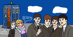 Doctor Who meets The Beatles by Monkeygal12345