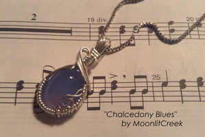 Chalcedony Blues by MoonlitCreek