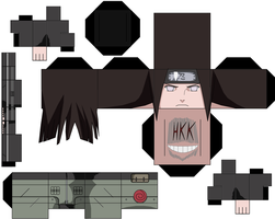 Neji Hyuga by hollowkingking
