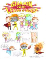 GLAM MAN + the LEAGUE of GOOD by pettyartist