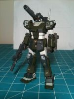 RGM-79SR GM S-Cannon by Johnny-E