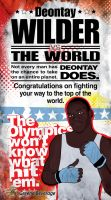 Deontay WIlder olympic boxer by kwant