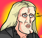 Lucius after azkaban. by TheBlackJacket