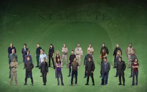 All Stargates by michpirate