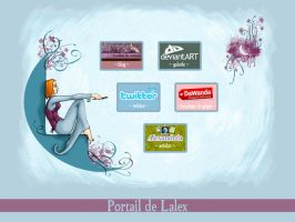 Portail Web by illustratrice-lalex