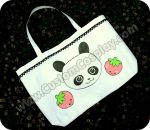 Panda tote bag by The-Cute-Storm