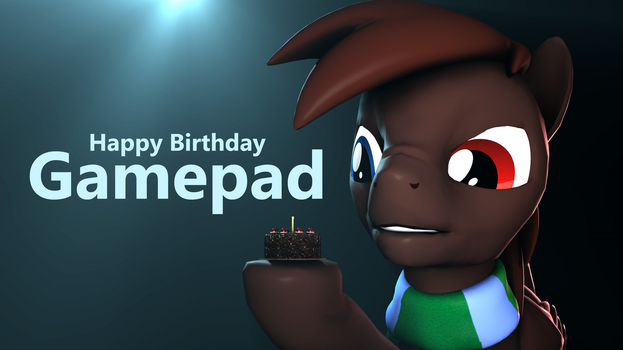 Happy Birthday Gamepad by MovieMowDown