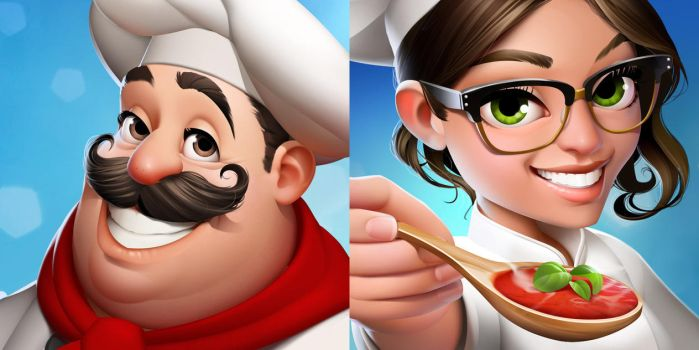 World Chef icons. by javieralcalde