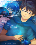 i am home dad - homestuck by LaWeyD