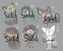 1 CatEye Adopts : SOLD OUT by Kinla