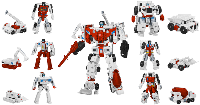 Shattered Glass Constructicons Digibash by Air-Hammer
