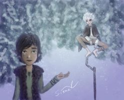 Hiccup and Jack by sisaat