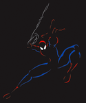 Spiderman by xanthine