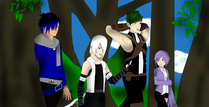 RWBY OC: Team CIEL's Outing (Year Two) by calibur222