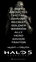 Halo 5 Guardians | Hunt The Truth Poster by DANYVADERDAY