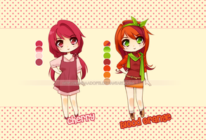 fruits 02 | fixed price [OPEN] by RandaAdopts