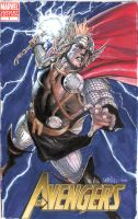 Thor cover commish by leinilyu