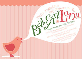 Baby Shower Invite by littlearashi