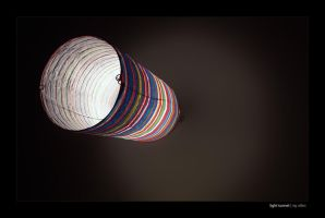 light tunnel by Raymate