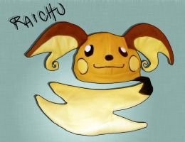 Pokemon Raichu Fleece Hat by tentenswift