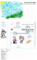 Doodle journal skin by Peeka13
