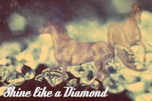 Shine like a diamond by Chynna-B