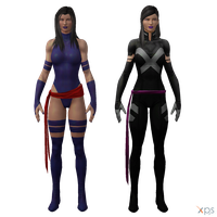 MH - Psylocke Pack by Postmortacum