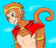 the monkey king by DB-Riddle