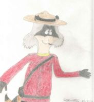 Bert as a Mountie by amacsally