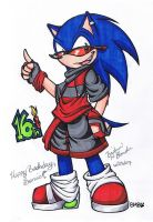 Happy Birthday, Sonic by Britno