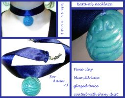 Katara's necklace-water tribe by FelineArtisan