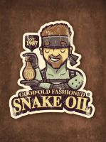 Gaming Sticker: Snake Oil by cronobreaker