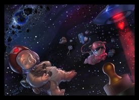 Space Babies by kidchuckle