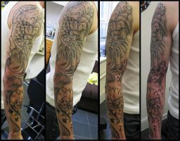 japanese sleeve by thirteen7s