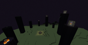 Ring of towers by CyberRune