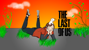 Cry plays: The last of us fan art by Jigoku-Rui-chan