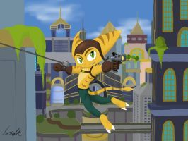 Ratchet (and Clank) by LombaxChaoLy