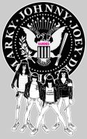 The RAMONES by pumpkinbear