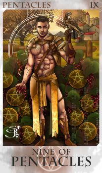 9 of Pentacles by St-Jinx