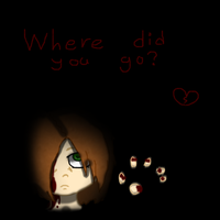 Where did you go? by NeF0rFan