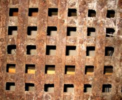 Rusty Grate by Falln-Stock