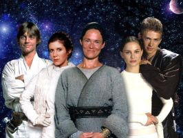 Skywalker Family by Stingrea51