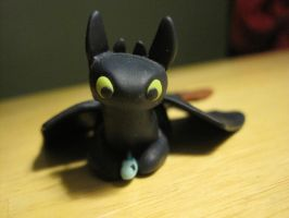 Toothless front view by miyeun