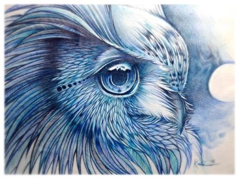 Mary's Owl by InkWitchArts