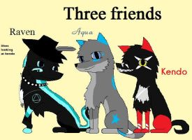 REAL goup of friends by AquaArtist532