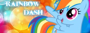 Rainbow Dash Bacground Facebook 2 by funyan-lineart