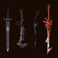 Sword designs by Wen-M by qylin
