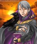 FE:A - Henry {Happy Birthday, Emm!} [SpeedPaint] by Loustica