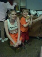 Chell and my Son by enterprisedavid