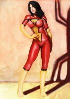 Spider Woman by outlawzz83